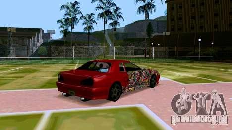 Elegy OnDrift для GTA San Andreas вид справа