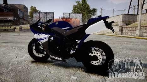 Yamaha YZF-R1 2009 для GTA 4 вид слева