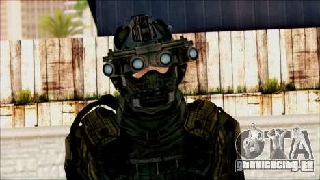 Солдат из команды Фантом 1 для GTA San Andreas третий скриншот