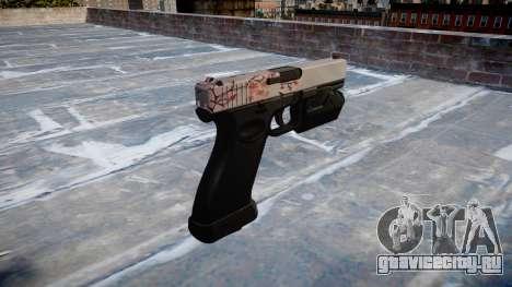 Пистолет Glock 20 cherry blososm для GTA 4 второй скриншот
