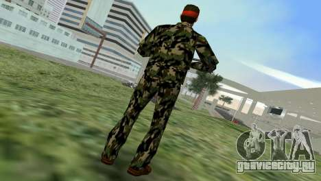 Camo Skin 01 для GTA Vice City третий скриншот