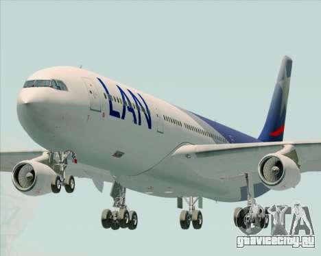 Airbus A340-313 LAN Airlines для GTA San Andreas