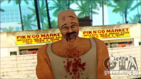 Manhunt Ped 8 для GTA San Andreas третий скриншот