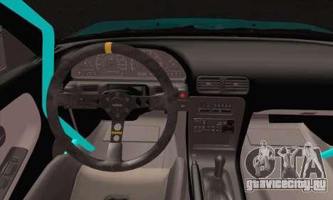 Nissan 240SX Drift Monster Energy для GTA San Andreas вид сзади слева