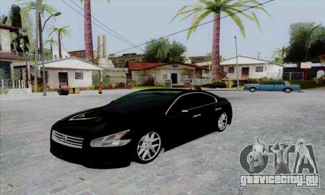 Nissan Maxima для GTA San Andreas