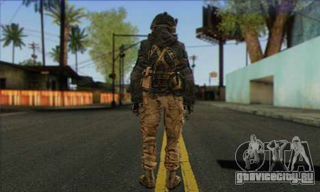 Task Force 141 (CoD: MW 2) Skin 16 для GTA San Andreas второй скриншот