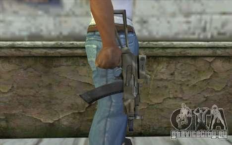 AK74U from Battlefield 2 для GTA San Andreas третий скриншот