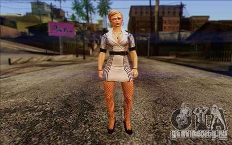 Tracy from Batman Arkham Origins для GTA San Andreas