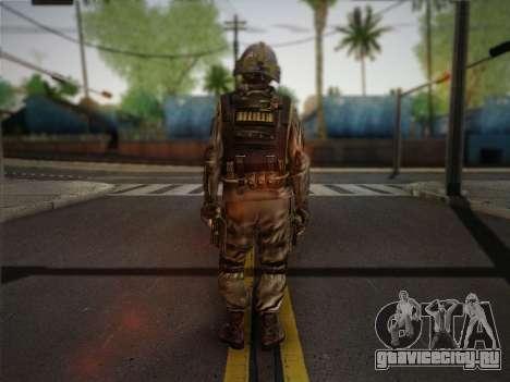 Боец СВР (Tom Clancy Splinter Cell) v1 для GTA San Andreas второй скриншот