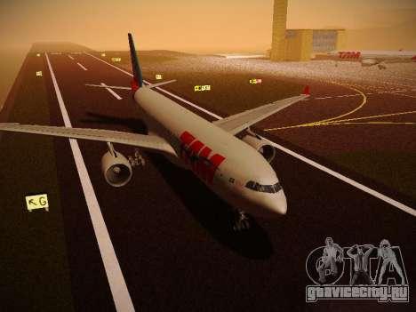 Airbus A330-200 TAM Airlines для GTA San Andreas