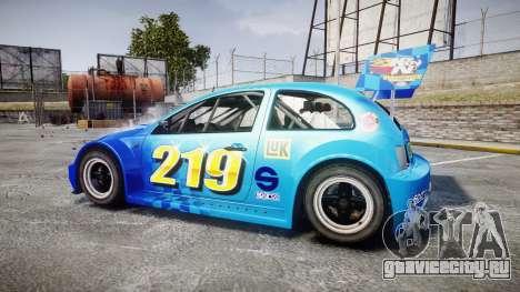 Zenden Cup Kicker для GTA 4 вид слева