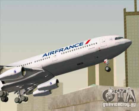 Airbus A340-313 Air France (New Livery) для GTA San Andreas салон
