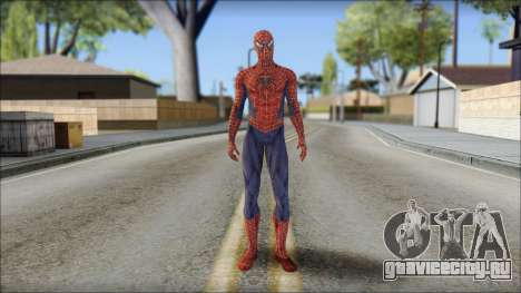 Red Trilogy Spider Man для GTA San Andreas