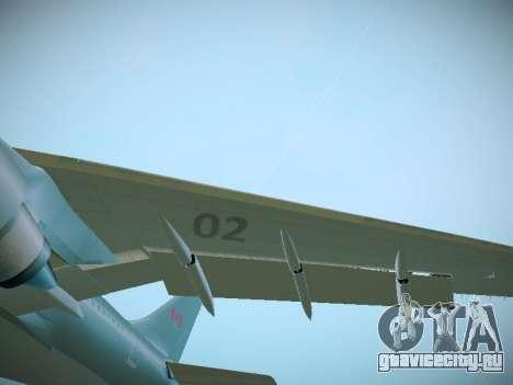 Canadian Forces Airbus CC150 Polaris для GTA San Andreas вид изнутри