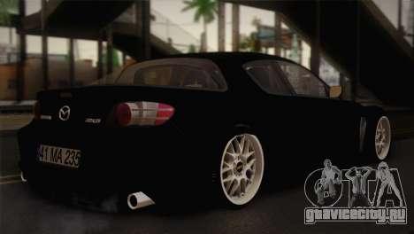 Mazda RX-8 Drift для GTA San Andreas вид слева