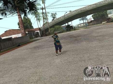 Поза гангстера для GTA San Andreas пятый скриншот