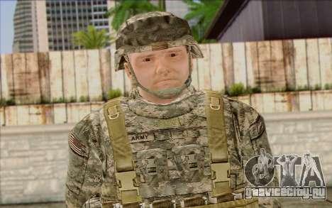 Солдат Армии США (ArmA II) 1 для GTA San Andreas третий скриншот