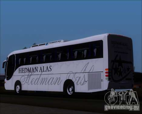 Comil Champione 2005 Hedman Alas для GTA San Andreas вид сзади слева