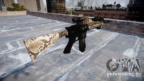 Автоматический карабин Colt M4A1 viper для GTA 4 второй скриншот