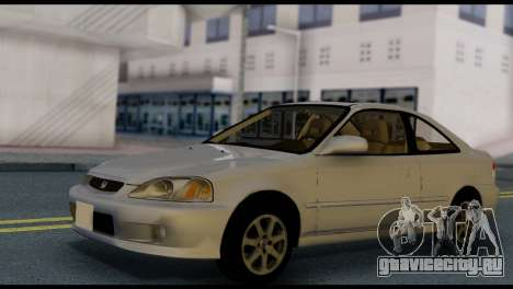Honda Civic Si 1999 для GTA San Andreas вид справа