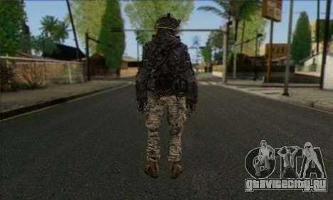 Task Force 141 (CoD: MW 2) Skin 4 для GTA San Andreas второй скриншот