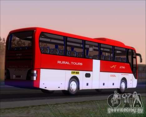 MAN Lion Coach Rural Tours 2790 для GTA San Andreas вид справа