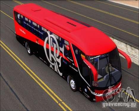 Marcopolo Paradiso 1200 G7 4X2 C.R.F Flamengo для GTA San Andreas вид сзади