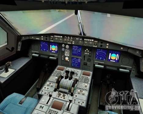 Airbus A330-300 Air Asia X для GTA San Andreas салон