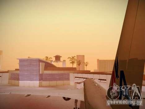 Boeing 777-223ER American Silver Bullet для GTA San Andreas колёса
