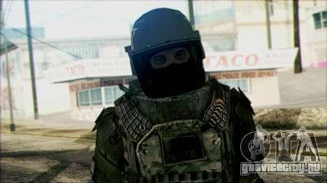 Солдат ВДВ (CoD: MW2) v3 для GTA San Andreas третий скриншот