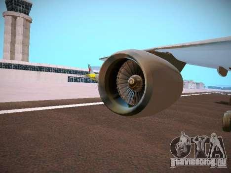 Canadian Forces Airbus CC150 Polaris для GTA San Andreas вид сверху