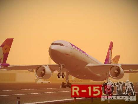 Airbus A330-200 Hawaiian Airlines для GTA San Andreas