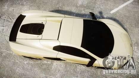 McLaren 650S Spider 2014 [EPM] Yokohama ADVAN v3 для GTA 4 вид справа