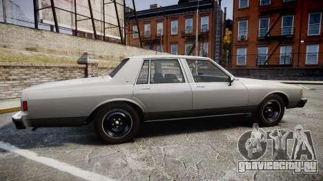 Chevrolet Impala 1985 для GTA 4 вид слева