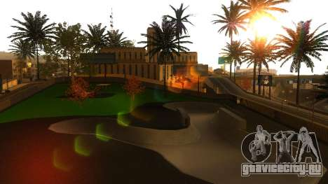 HD Текстуры скейт-парка и госпиталя V2 для GTA San Andreas одинадцатый скриншот