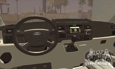 Ford Transit Limited Edition для GTA San Andreas вид сзади слева
