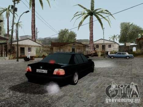 BMW 760i E38 для GTA San Andreas вид сзади слева