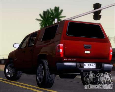 Chevrolet Silverado 2011 для GTA San Andreas двигатель