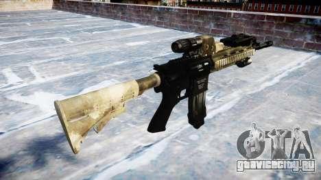 Автоматический карабин Colt M4A1 a tac au для GTA 4 второй скриншот