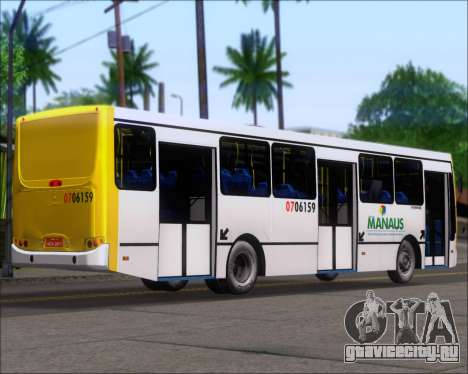 Caio Induscar Apache S21 Volksbus 17-210 Manaus для GTA San Andreas вид сзади слева
