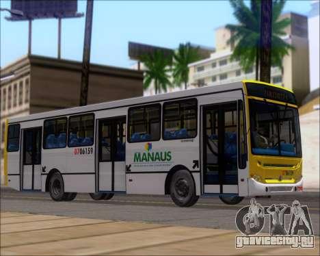Caio Induscar Apache S21 Volksbus 17-210 Manaus для GTA San Andreas вид справа
