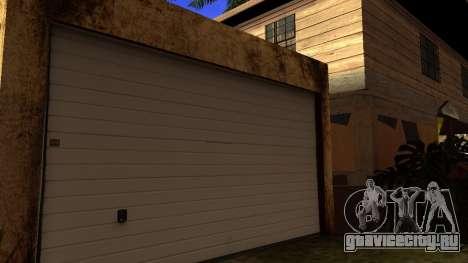 Новые HD текстуры домов на Гроув-стрит v2 для GTA San Andreas третий скриншот