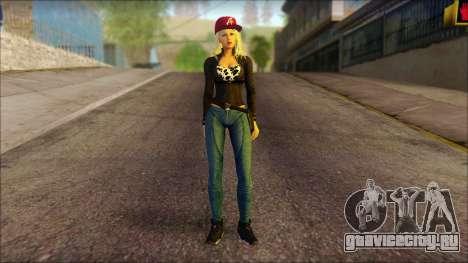 Eva Girl v2 для GTA San Andreas