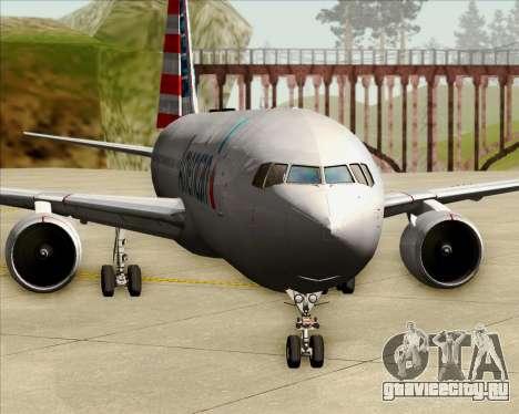 Boeing 767-323ER American Airlines для GTA San Andreas салон