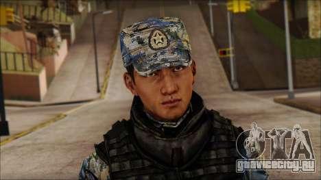 MG from PLA v1 для GTA San Andreas третий скриншот