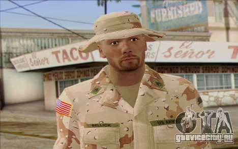 California National Guard Skin 1 для GTA San Andreas третий скриншот
