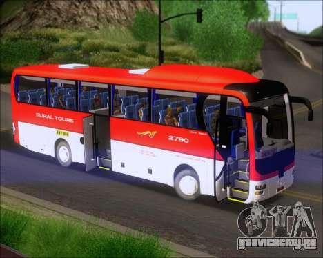 MAN Lion Coach Rural Tours 2790 для GTA San Andreas вид изнутри