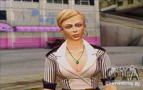 Tracy from Batman Arkham Origins для GTA San Andreas третий скриншот
