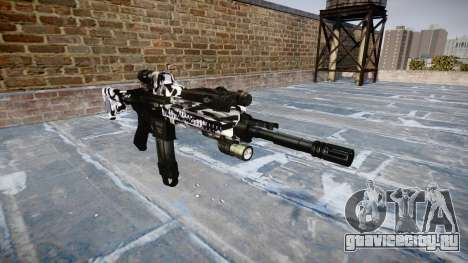 Автоматический карабин Colt M4A1 siberia для GTA 4