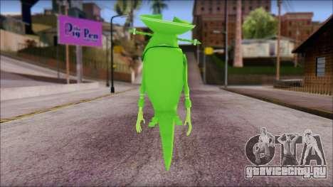 Dutchman from Sponge Bob для GTA San Andreas второй скриншот